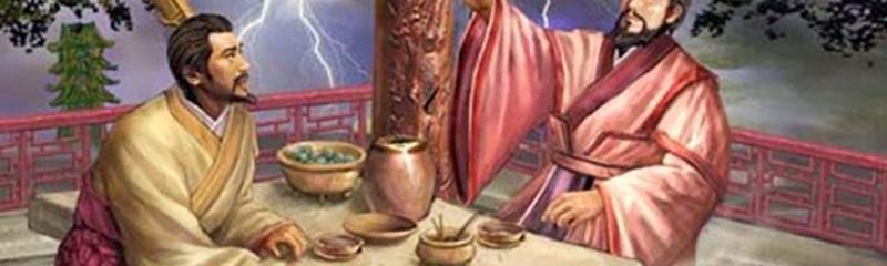 Tào Tháo uống rượu luận anh hùng - La Quán Trung