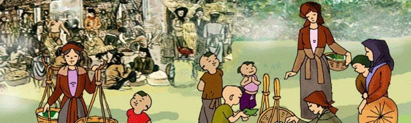 Một thứ quà của lúa non: Cốm - Thạch Lam